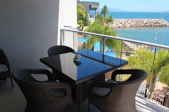 Grand Mercure Apartments Magnetic Island: View from the balcony of a 1 Bedroom Apartment with ocean views.