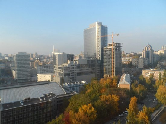 Premier Hotel Rus: View from 14 fl, called ''city view'' when booking