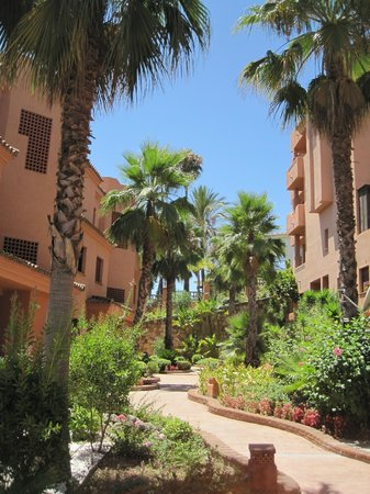 Royal Suites Marbella : vista desde la cocina