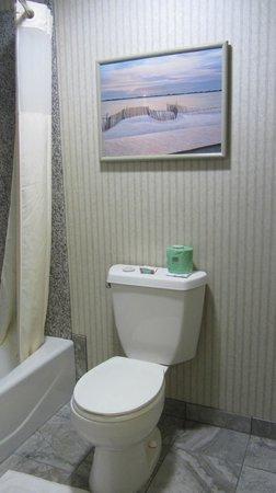 Surf & Sand Lodge: Bathroom