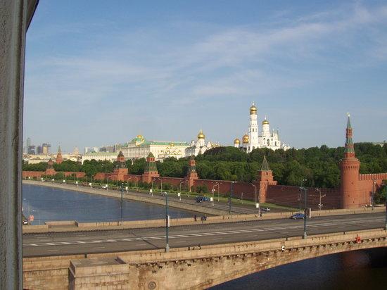 Hotel Baltschug Kempinski Moscow : Blick aus dem Hotelfenster