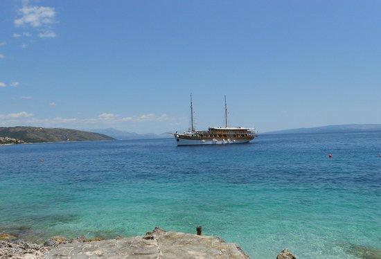 House Klaudija: Пляж на острове Чиово