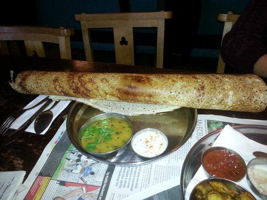 Thali Cafe Easton: dosa