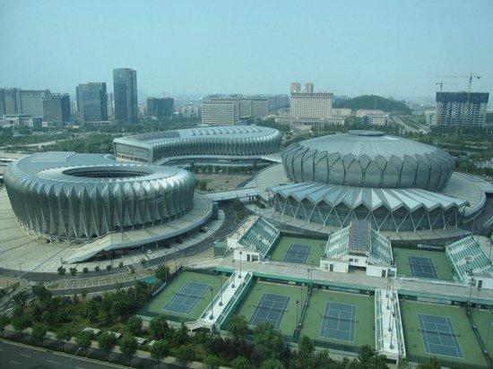 Sheraton Jinan Hotel: Sport Center outside