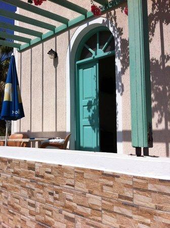 Villas Joanna: Inngangen til leilighet 11.