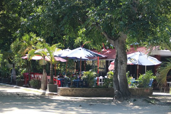 Cafe Pereybere: Terrasse du Café Pereybere