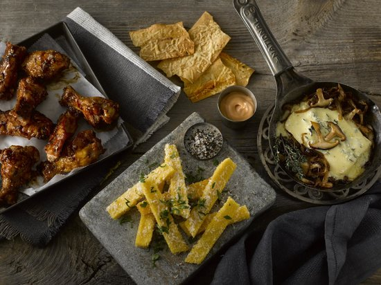 Black Powder Tavern: small plates