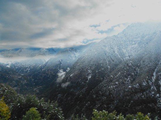 Rifugio Zum Gora : Panorama dal terrazzo del rifugio