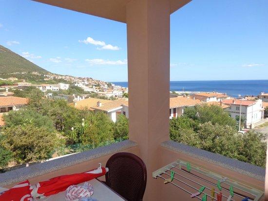 Parco Blu Club Hotel Resort : panorama dalla camera