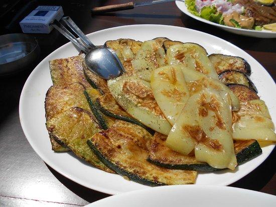 Konoba Labadusa - Restaurant: Овощи на гриле