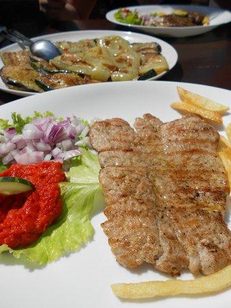 Konoba Labadusa - Restaurant: Стейк на гриле