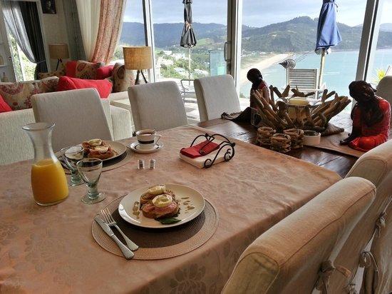 Sea Escape Retreat : breakfast