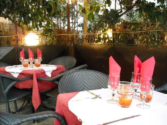 L'Ombrée : Le restaurant L'Ombree