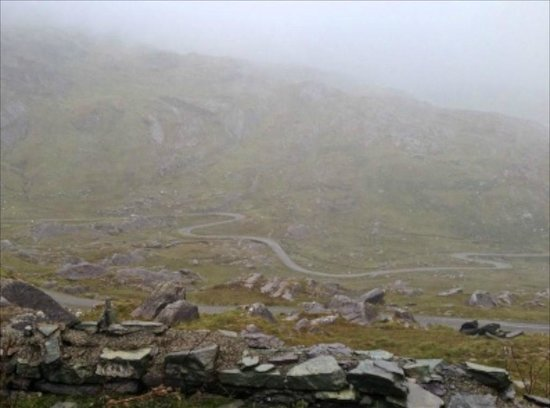 Celtic Rider: Wet, Windy and Whiteknuckle ride at Healy Pass