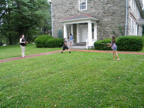 The Moravian Historical Society: Free Summer Sundays - colonial games for youth