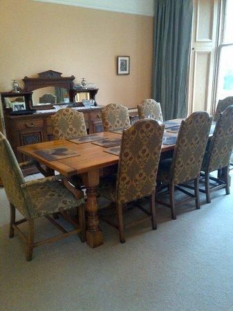 Easter Kincaple: Dining room