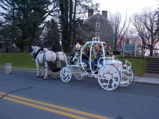 The Moravian Historical Society: Christmas in Nazareth Carriage rides
