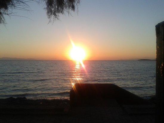 Amarilia Hotel: sun set