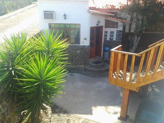 Pimampiro Hosteria: vista desde mi cabaña