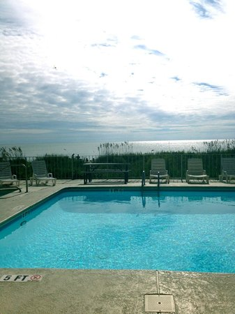 Gazebo Inn Ocean Front: view from room 1st floor