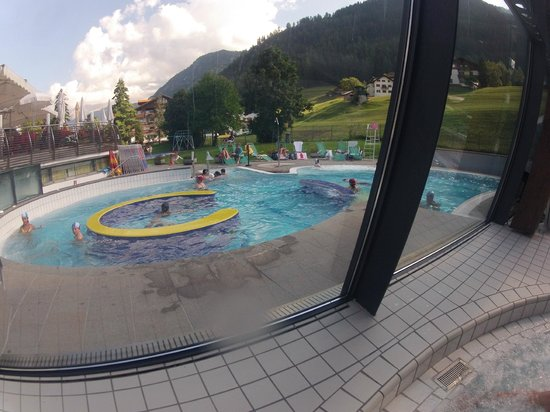 Mar Dolomit : vasca esterna riscaldata