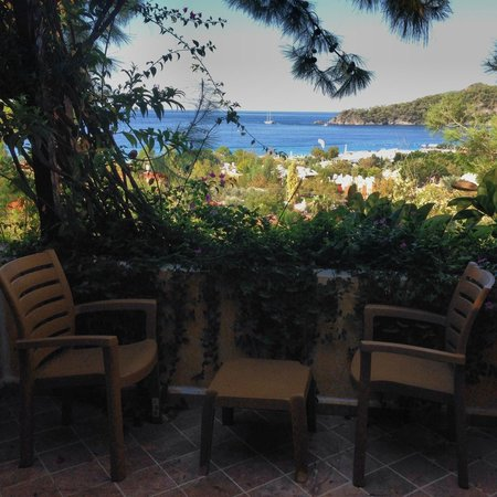 Symbola Oludeniz Beach Hotel: Beautiful balcony view