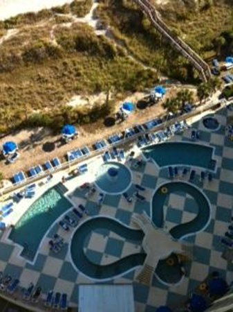 Avista Resort: view from our room