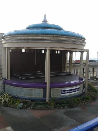 Eastbourne Bandstand: beautiful band stand