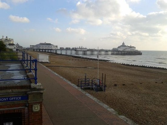 Eastbourne Bandstand: view of the Pier from the bandstand