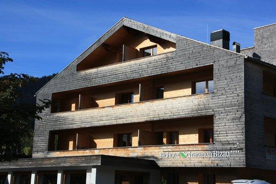 Hotel Schwanen im Bregenzerwald: Hotelansicht von außen