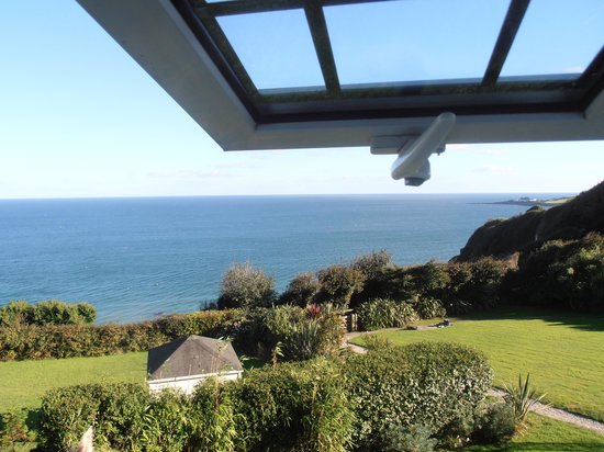 Trevalsa Court Country House Hotel: view