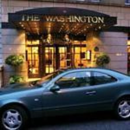 Washington Mayfair Hotel : Entrance on Curzon St.