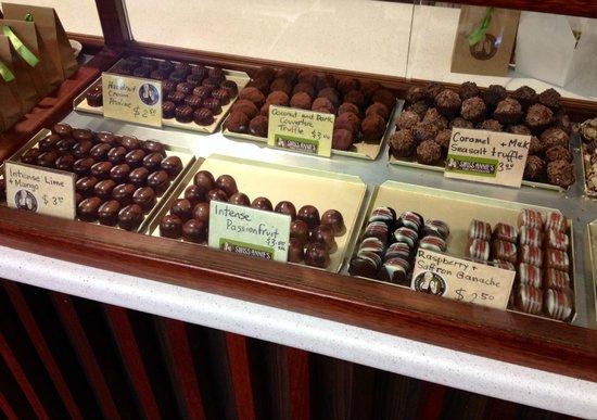 Denmark Chocolate Company - Swiss Annie's Fine Chocolate: Truffles and More!