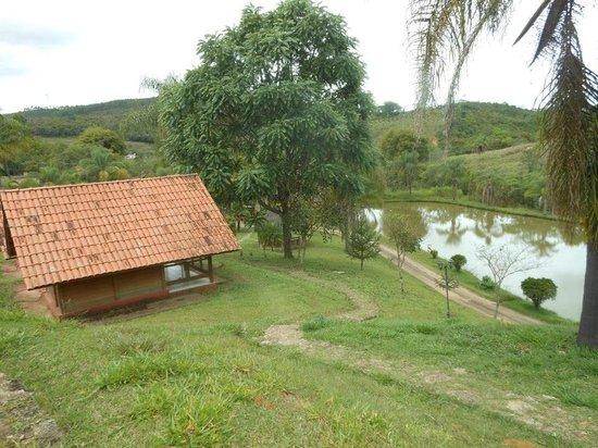 Amarantina, MG: Vista do nosso Chalé