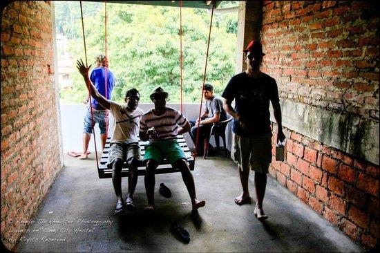 Kandy City Hostel : Roof Top