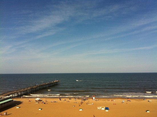 Best Western Plus Sandcastle Beachfront Hotel: View from the 9th floor balcony