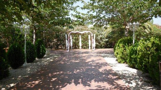 La Plantacion: Area before ceremony