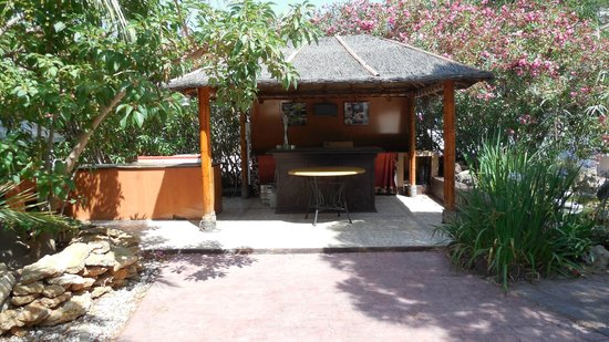 La Plantacion: Outdoor bar