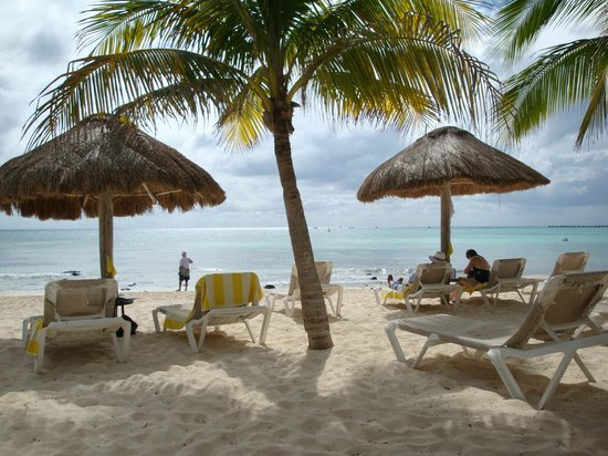 Mahekal Beach Resort: Strandbereich