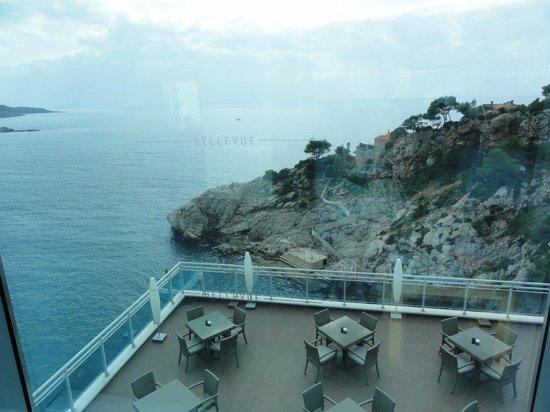 Hotel Bellevue Dubrovnik : Vue accueil hôtel
