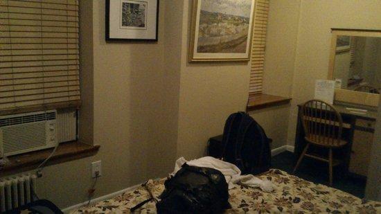 Park Savoy: Visão ampla do quarto