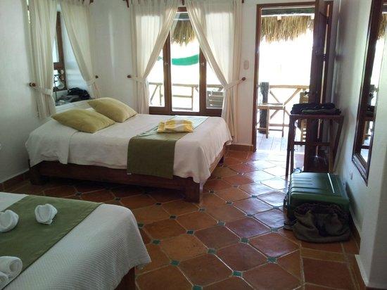 Mahekal Beach Resort: Zimmer