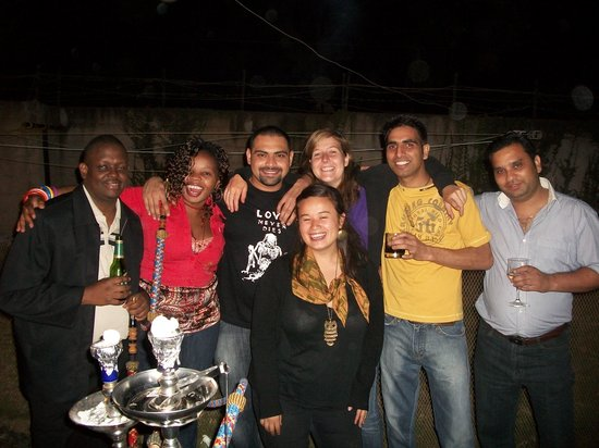 PrideInn Hotel Raphta Road: after barbeque with friends!!!