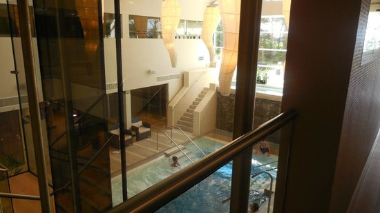 The Spa Hotel at Ribby Hall Village: View above spa space