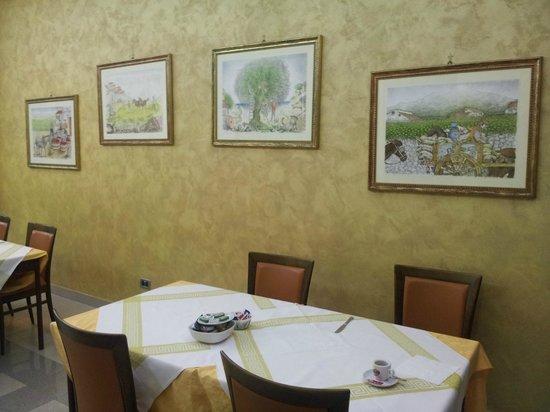 Hotel Villa Archirafi: Sala delle colazioni