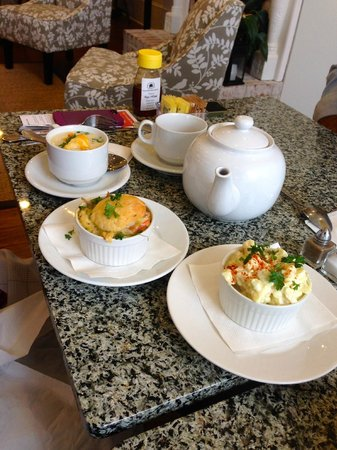 Cornwallis House Tea Company: Tea, soup, chicken pot pie, potato salad