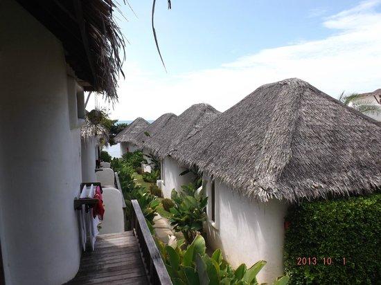 Lazy Day's Samui Beach Resort: gardenview Richtung Meer
