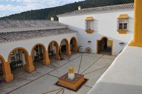 Courtyard Hacienda la Morena