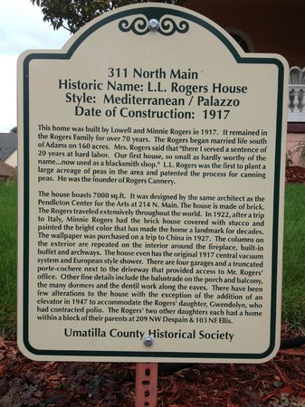 Pendleton House Historic Inn: A bit of history about the home