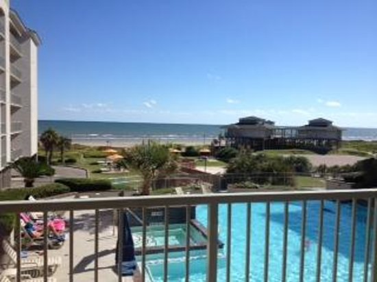 Holiday Inn Club Vacations Galveston Beach Resort From Our Balcony